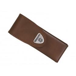 Étui Victorinox en cuir marron pour Swisstool Spirit