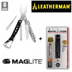 Pack Leatherman Style CS + Maglite XL200