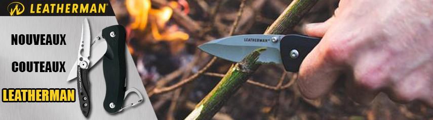 Diapo couteaux Leatherman
